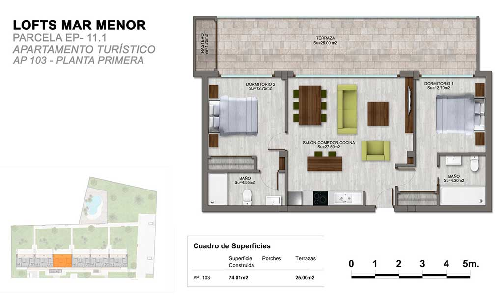 Apartamentos en Mar Menor Golf Resort